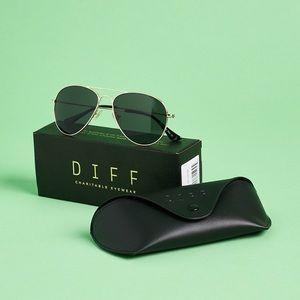 Diff Cruz Aviator Sunglasses